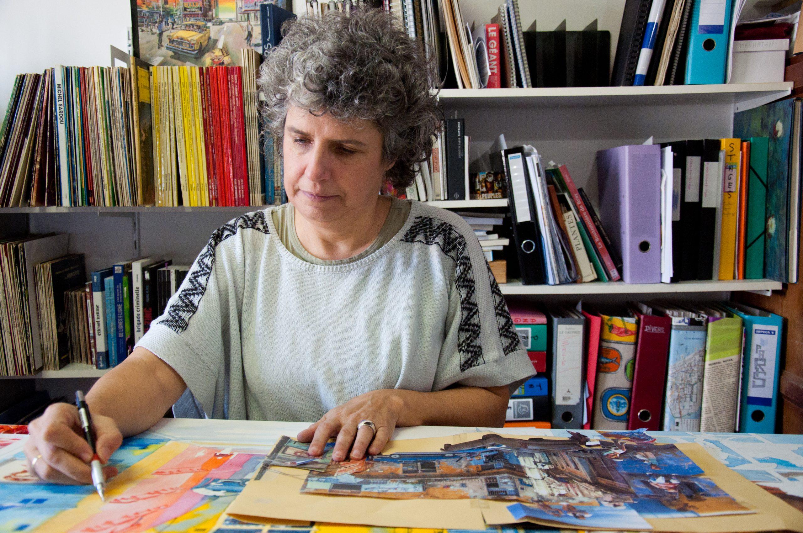 Visite de l'atelier de Patricia Allais-Rabeux