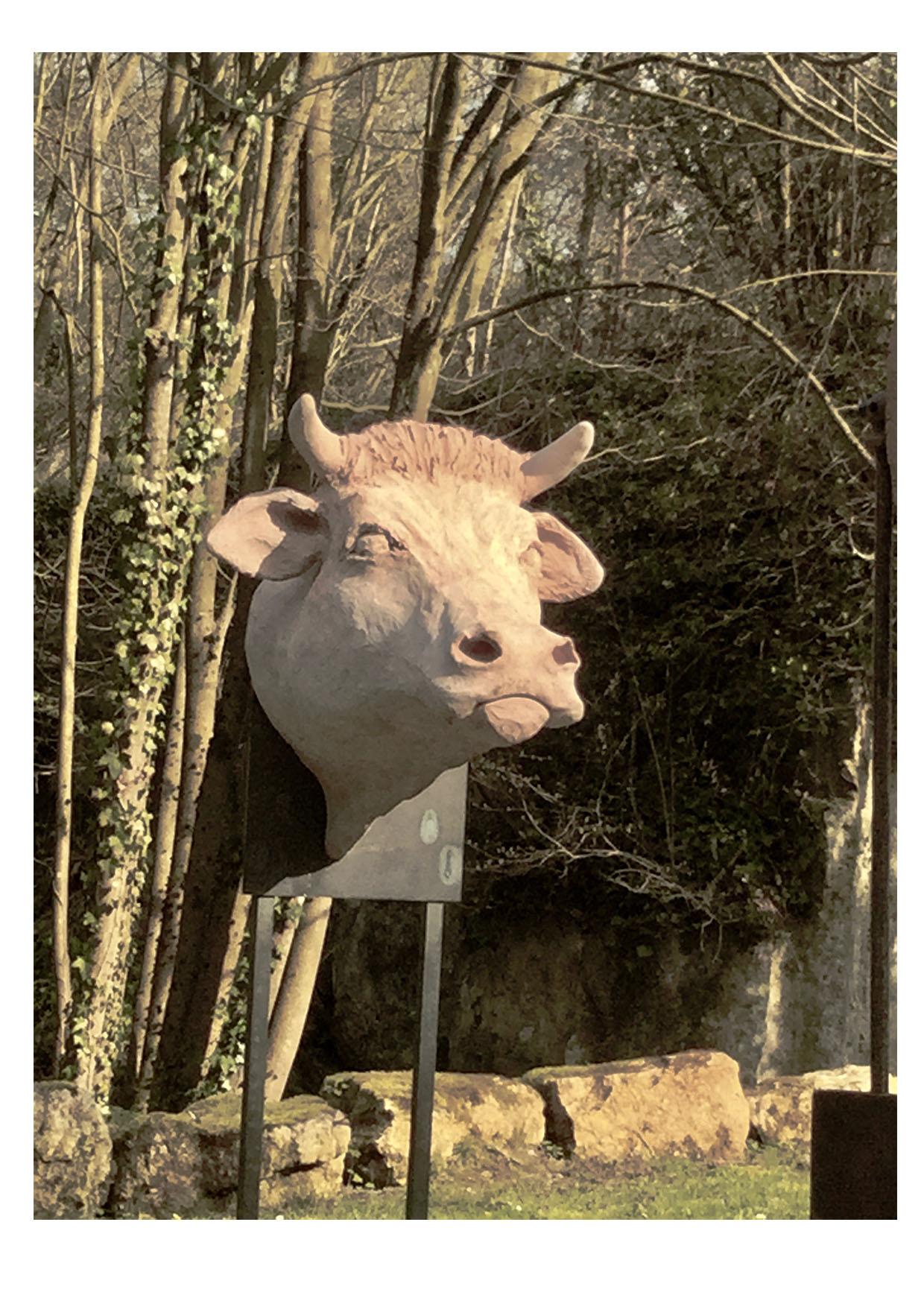 REPORTÉ : Présentation des sculptures «in situ» par Patricia Lemort @ Lachapelle-aux-Pots, au niveau de l'Avenue Verte London-Paris (parking rue des Joncquières