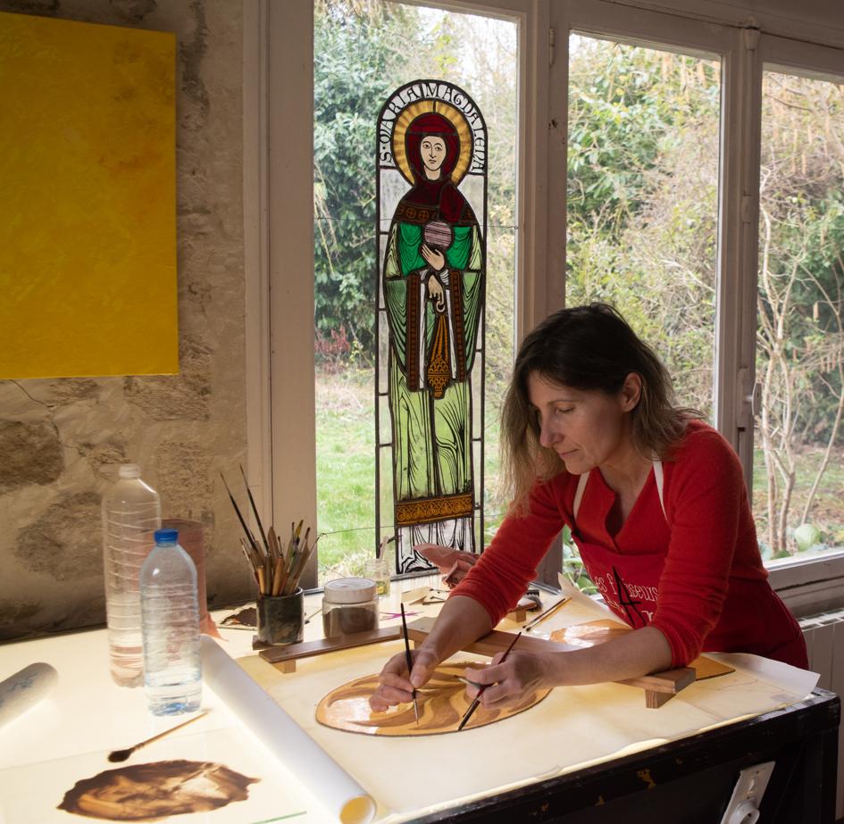 Dernier rendez-vous au sein de l'atelier de Maya Reich @ Communauté de communes du pays de bray